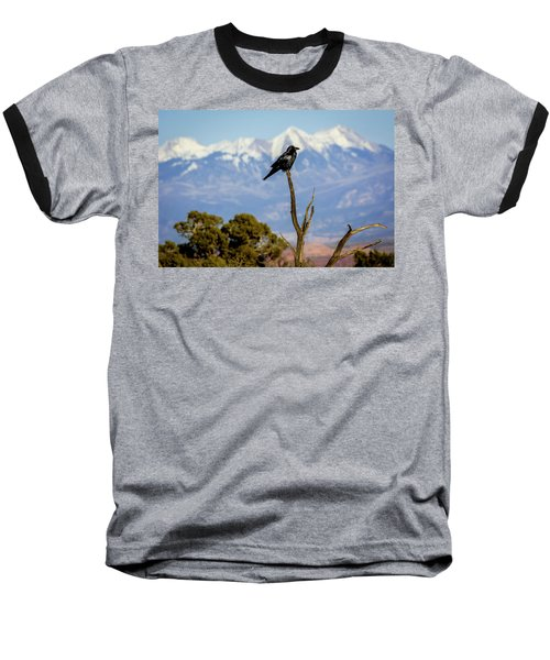 Baseball T-Shirt featuring the photograph Winter Is Coming by David Morefield