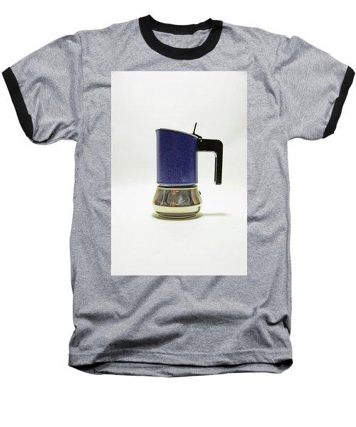 10-05-19 Studio. Blue Cafetiere Baseball T-Shirt