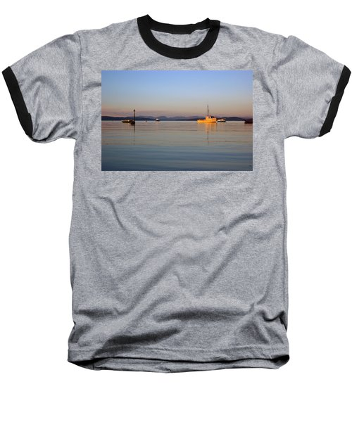 10/11/13 Morecambe. Fishing Boats Moored In The Bay. Baseball T-Shirt