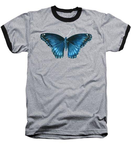 113 Brenton Blue Butterfly Baseball T-Shirt