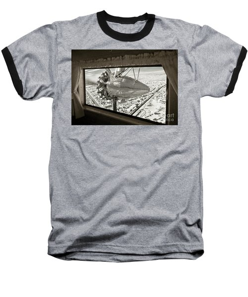 1928 Ford Tri-motor Baseball T-Shirt