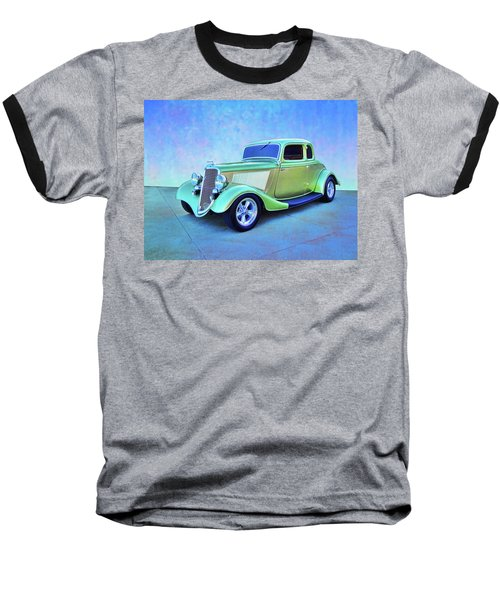 1934 Green Ford Baseball T-Shirt