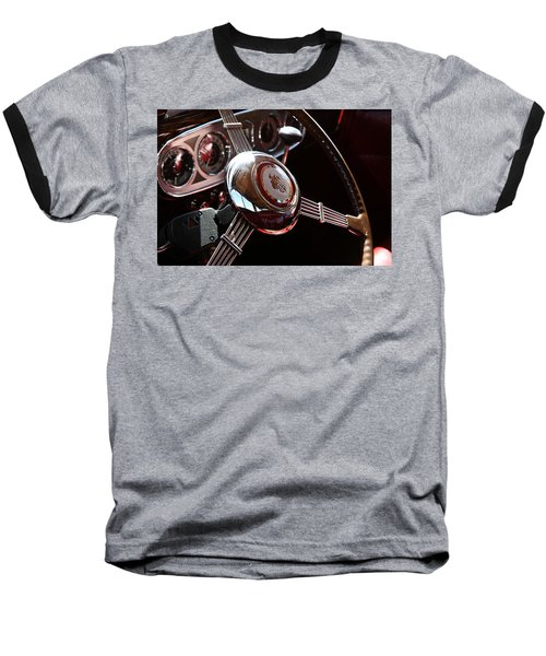 1937 Vintage Model 1508 Steering Wheel Baseball T-Shirt