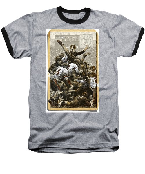 1940 Chicago Bears Baseball T-Shirt