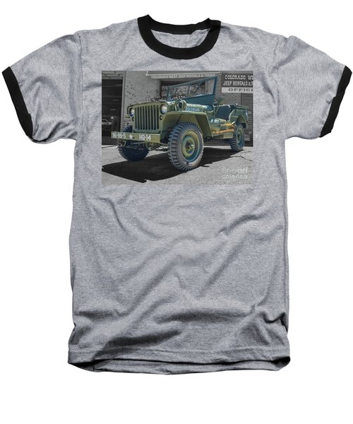 1942 Willys Gpw Baseball T-Shirt
