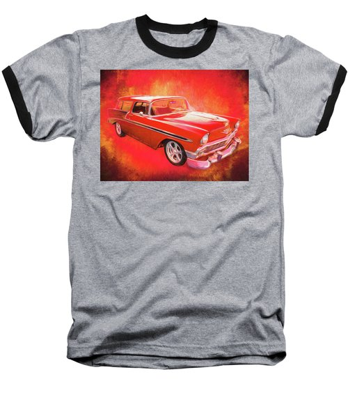 1956 Chevy Nomad Baseball T-Shirt