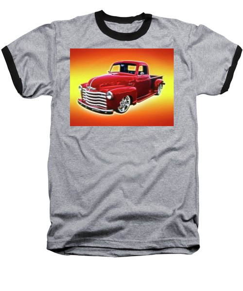 19948 Chevy Truck Baseball T-Shirt