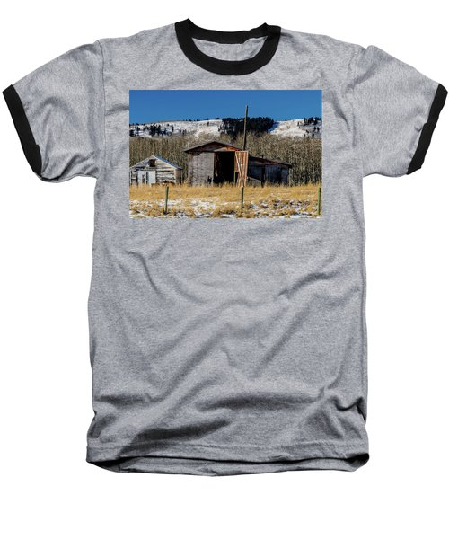 A Sign Of The Times, Run Diown Farm Out Buildings And Barns, Alb Baseball T-Shirt
