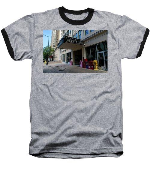 Broad Street Downtown Augusta Ga Baseball T-Shirt