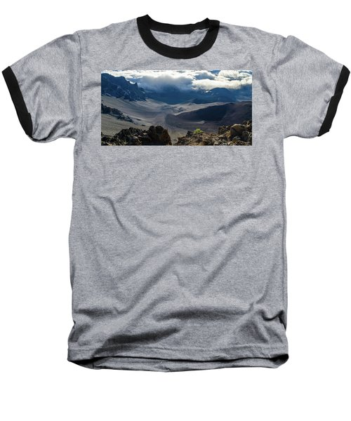 Haleakala Crater Baseball T-Shirt