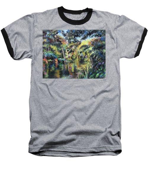 Lake Reflections Baseball T-Shirt
