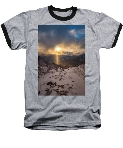 Let There Be Light Baseball T-Shirt