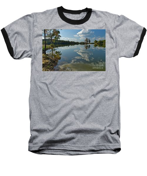 Reflections By The Lake Baseball T-Shirt