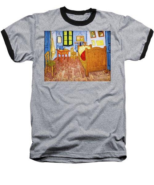 Van Gogh's Bedroom At Arles Baseball T-Shirt