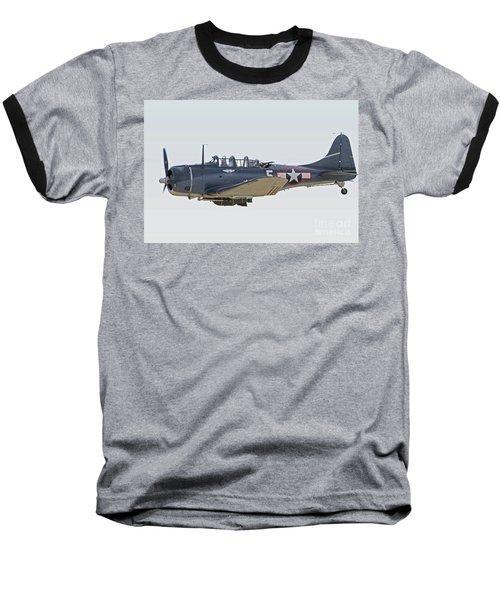 Vintage World War II Dive Bomber Baseball T-Shirt