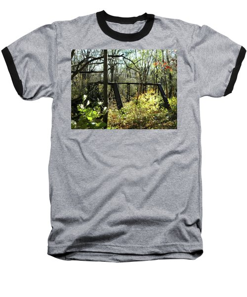 Ye Old Tracks Baseball T-Shirt