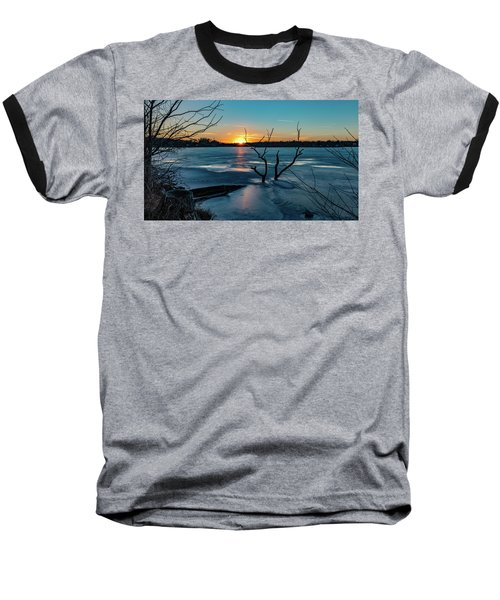 2019-012/365 January Sunset Baseball T-Shirt