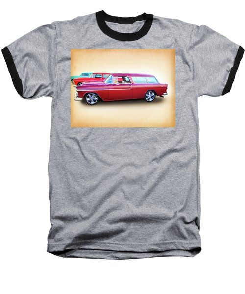 3 - 1955 Chevy's Baseball T-Shirt