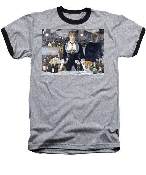 A Bar At The Folies Bergere Baseball T-Shirt