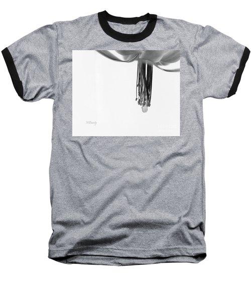 Christmas Cactus Stamen Baseball T-Shirt