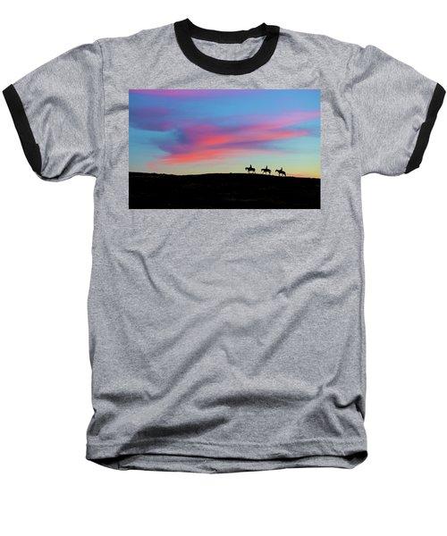 3 Horsemen Baseball T-Shirt