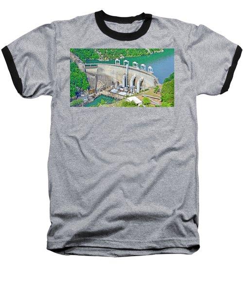 Smith Mountain Lake Dam Baseball T-Shirt