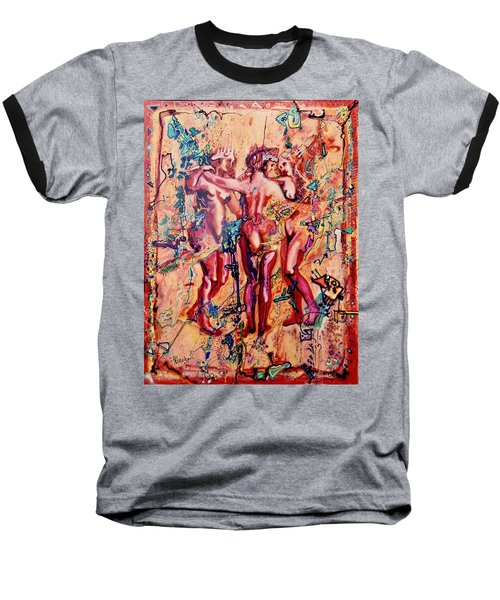 3 Virgins - Rubens, Airbrush 1990 Baseball T-Shirt