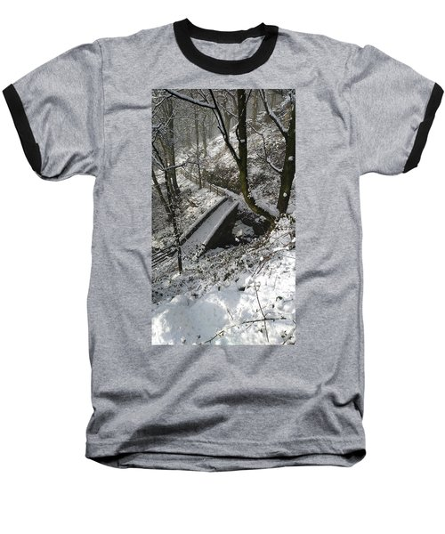 30/01/19  Rivington. Cascade Bridge. Baseball T-Shirt