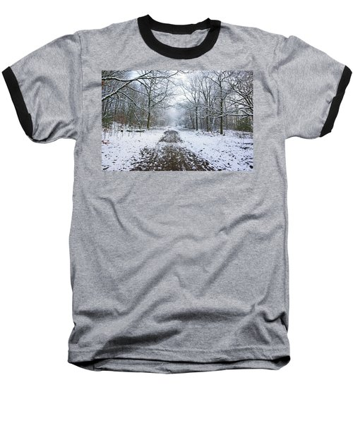 30/01/19  Rivington. Lower Barn. Arboretum Path. Baseball T-Shirt