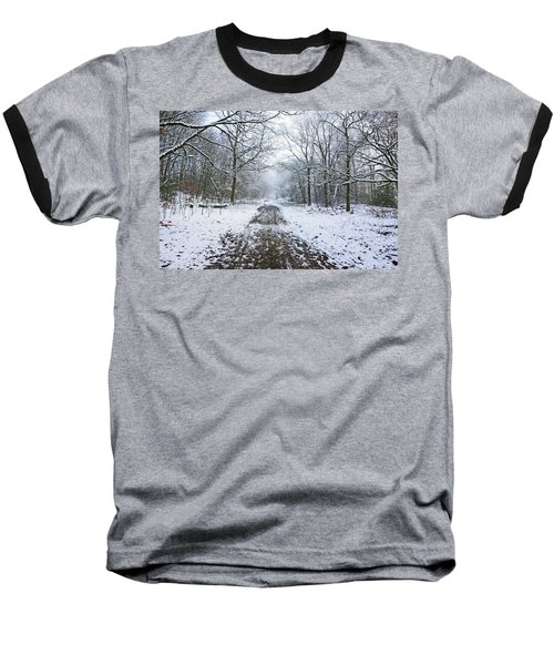 30/01/19  Rivington. Lower Barn. Arboretum Path. Baseball T-Shirt