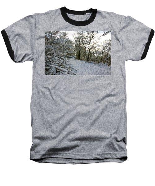 30/01/19  Rivington. Top Path Below The Pigeon Tower. Baseball T-Shirt