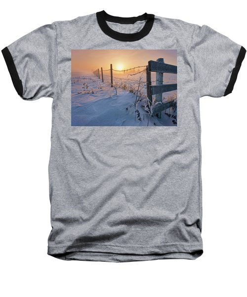 -30 Sunrise Baseball T-Shirt