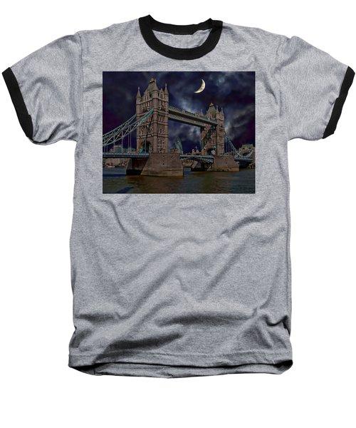 London Tower Bridge Baseball T-Shirt