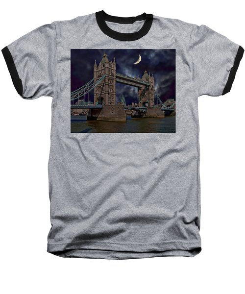 London Tower Bridge Baseball T-Shirt