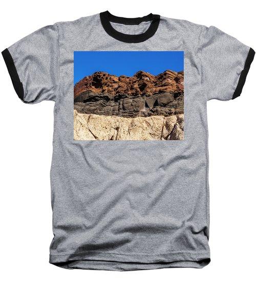 4 Textures 4 Colors Baseball T-Shirt