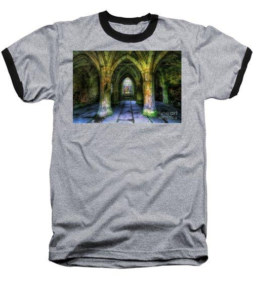 Valle Crucis Abbey Baseball T-Shirt