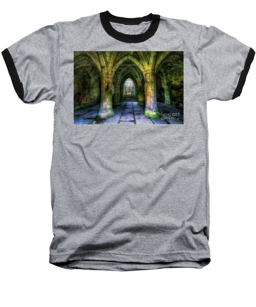 Valle Crucis Abbey Baseball T-Shirt