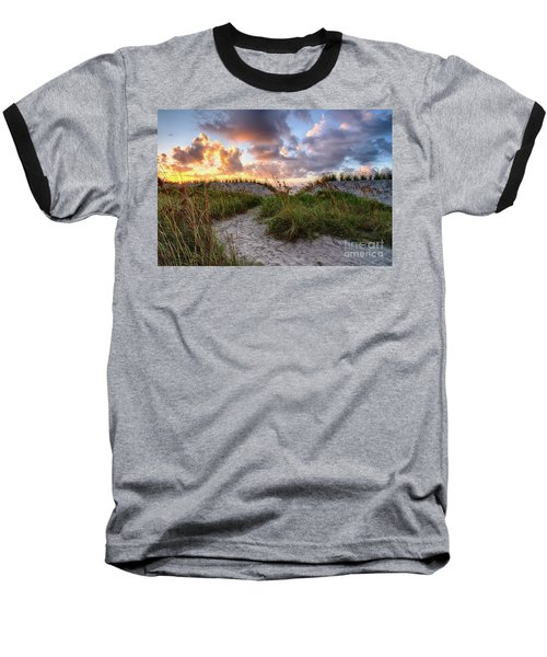 48th Ave. Sunrise North Myrtle Beach Baseball T-Shirt