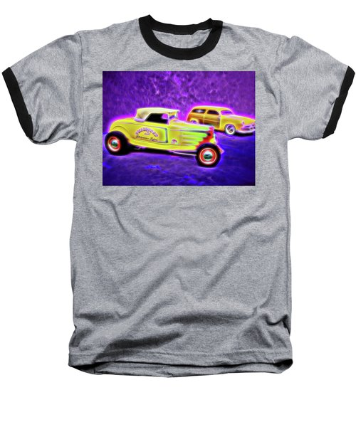 32 Roadster And 49 Woody Baseball T-Shirt