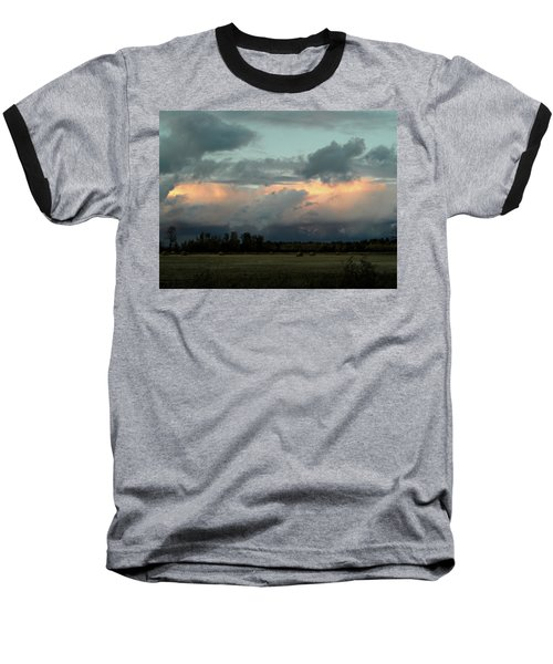 Colossal Country Clouds Baseball T-Shirt