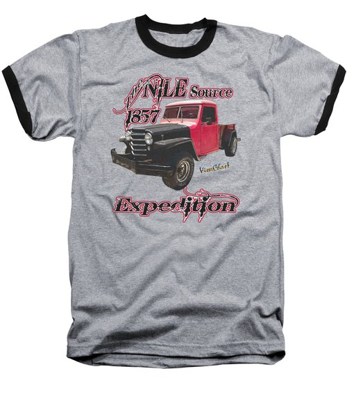 51 Willys Jeep 4x4 Pickup Ridge Running Before Dark Baseball T-Shirt