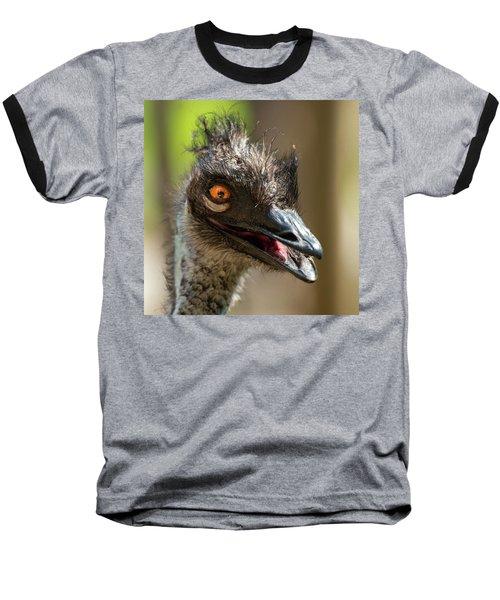 Australian Emu Outdoors Baseball T-Shirt