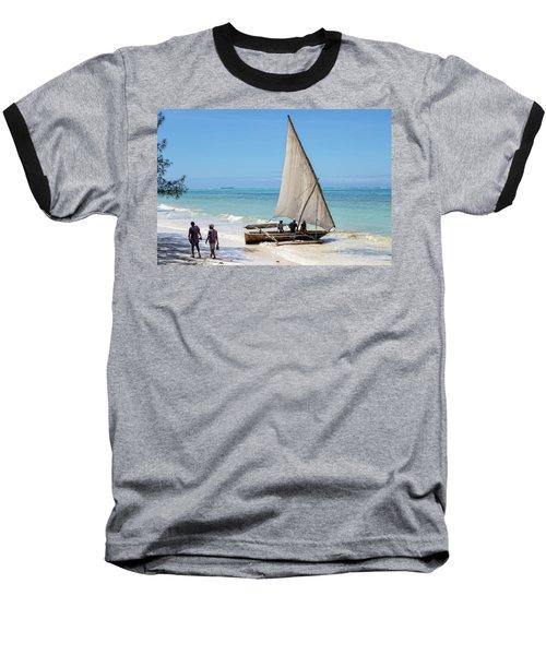 A Dhow In Zanzibar Baseball T-Shirt