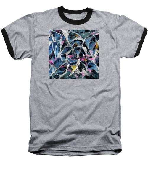 A Fine Web Baseball T-Shirt