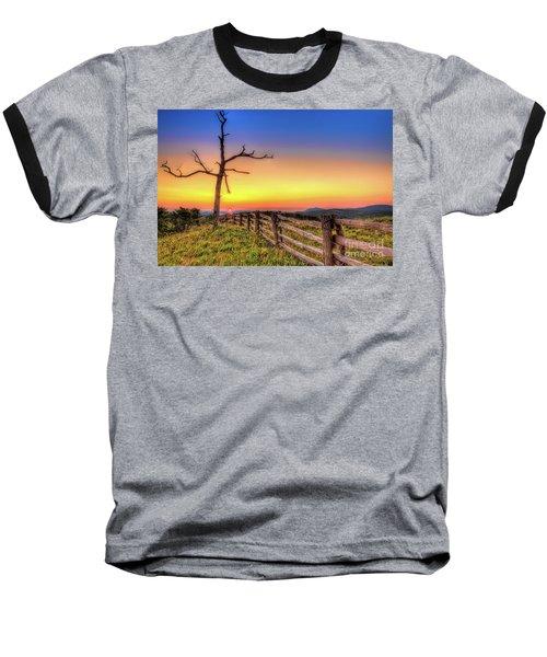 A Gorgeous Blue Ridge Sunrise Baseball T-Shirt