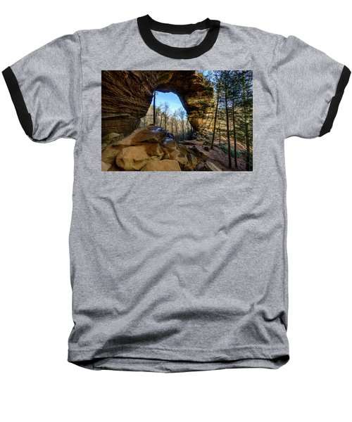 A Hole In Time Baseball T-Shirt