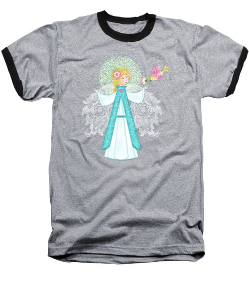 A Is For Angel Baseball T-Shirt