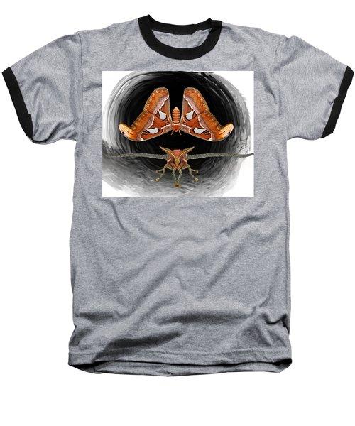 A Is For Atlas Moth Baseball T-Shirt