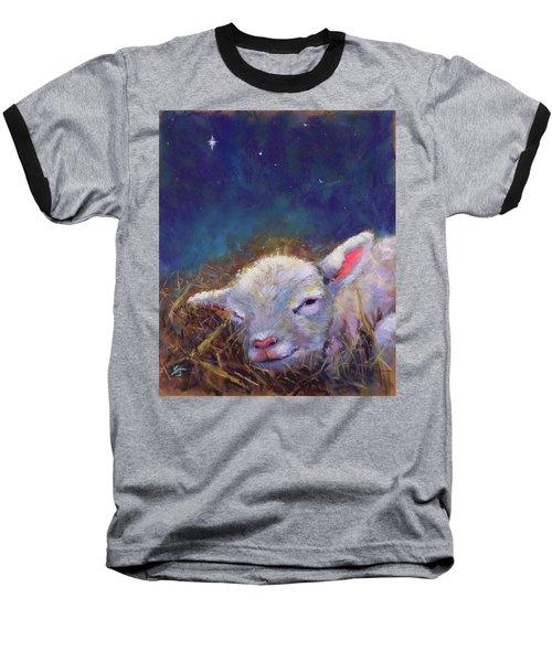 A King Is Born Baseball T-Shirt