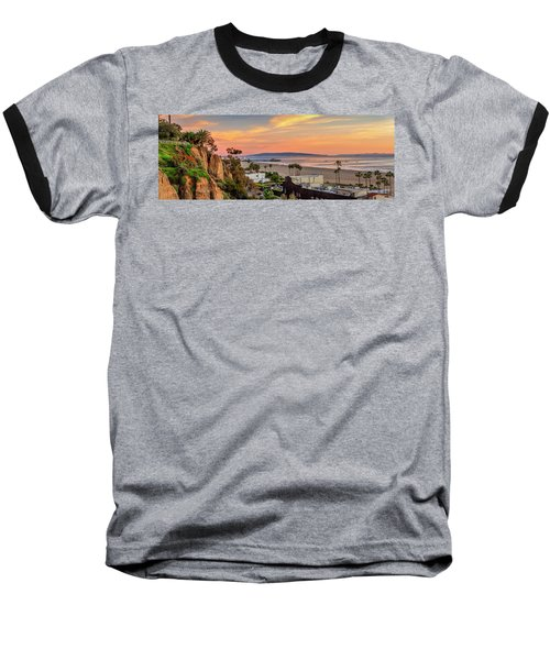 A Nice Evening In The Park - Panorama Baseball T-Shirt